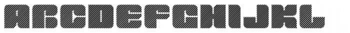 Tovstun D 4F Font UPPERCASE