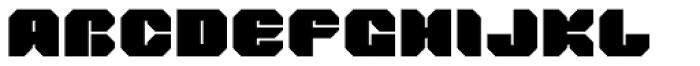 Tovstun F 4F Font UPPERCASE