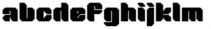Tovstun F 4F Font LOWERCASE