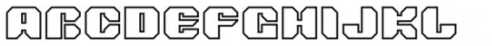 Tovstun G 4F Font UPPERCASE