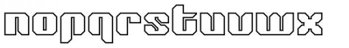 Tovstun G 4F Font LOWERCASE