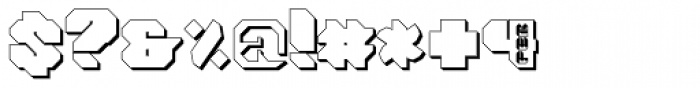 Tovstun H 4F Font OTHER CHARS