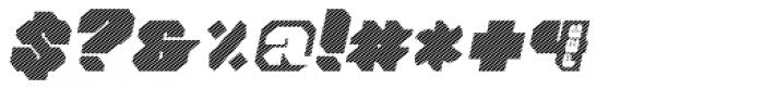 Tovstun J 4F Italic Font OTHER CHARS