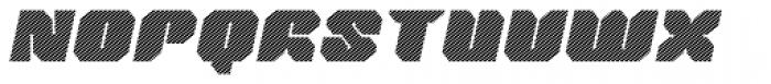 Tovstun J 4F Italic Font UPPERCASE