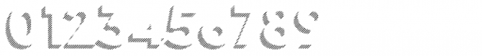 Town 31 Dimensional Black Lines Solo Font OTHER CHARS