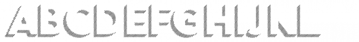 Town 31 Dimensional Bold Lines Solo Font LOWERCASE