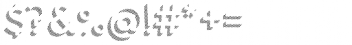 Town 31 Dimensional Regular Lines Solo Font OTHER CHARS