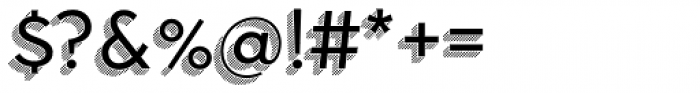 Town 31 Dimensional Regular Lines Font OTHER CHARS