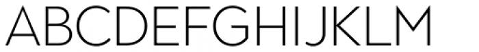 Town 80 Text Light Font UPPERCASE