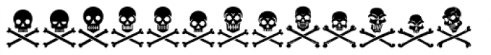 Tox Icons Reverse Font UPPERCASE