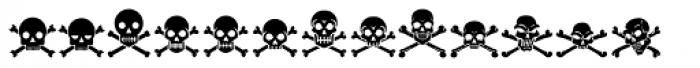 Tox Icons Reverse Font LOWERCASE