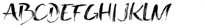 Toxic Marker Font UPPERCASE