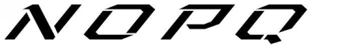Toxic X Italic Font UPPERCASE