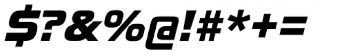 Toxigenesis Heavy Italic Font OTHER CHARS
