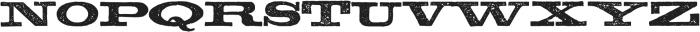 TPTC CW Boucher otf (400) Font UPPERCASE