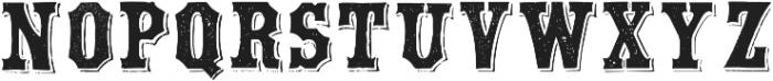 TPTC CW Chimborazo otf (400) Font UPPERCASE