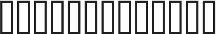 TPTC CW Line Border Three otf (400) Font LOWERCASE