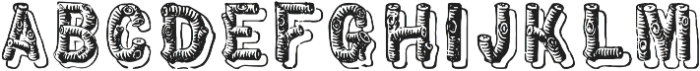 TPTC CW Pioneer Corps otf (400) Font UPPERCASE