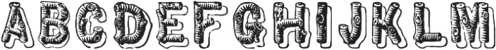 TPTC CW Pioneer Corps otf (400) Font LOWERCASE