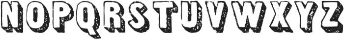 TPTC CW The Liberator otf (400) Font UPPERCASE