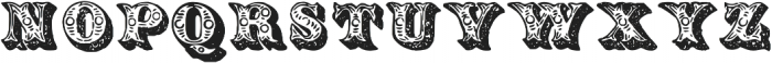 TPTC CW The London Charivari otf (400) Font UPPERCASE