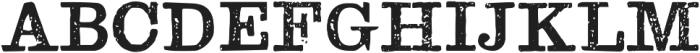 TPTC CW The Nondescript otf (400) Font UPPERCASE