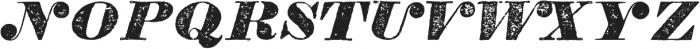TPTC CW Tredegar Italic otf (400) Font UPPERCASE