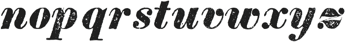 TPTC CW Tredegar Italic otf (400) Font LOWERCASE