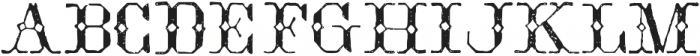 TPTC CW2 Broderie otf (400) Font UPPERCASE