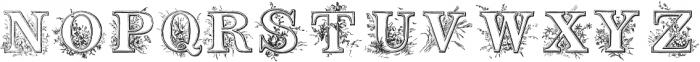 TPTC CW2 Niblos Garden otf (400) Font UPPERCASE