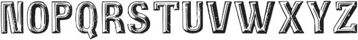 TPTC CW2 Schnepf otf (400) Font UPPERCASE