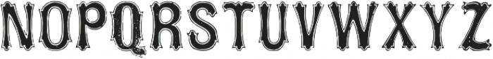 TPTC CW2 Squarzas Punch Outline otf (400) Font UPPERCASE