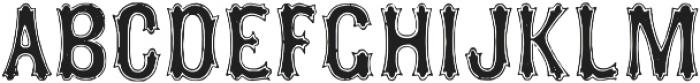 TPTC CW2 Squarzas Punch Outline otf (400) Font LOWERCASE