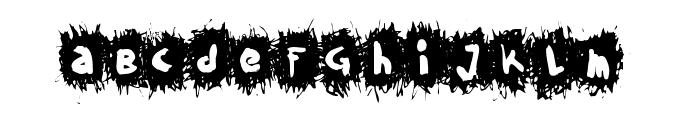 TPF Krikkel Krakkel Font LOWERCASE
