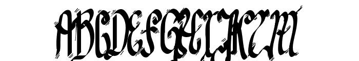 TPF Senseless Strokes Font UPPERCASE