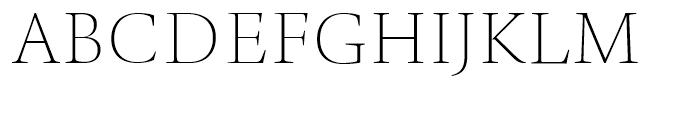 TP Mincho High EL Font UPPERCASE