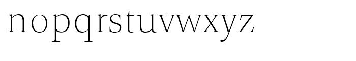 TP Mincho High EL Font LOWERCASE