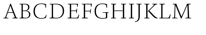 TP Mincho Middle L Font UPPERCASE