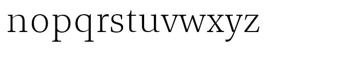 TP Mincho Middle L Font LOWERCASE