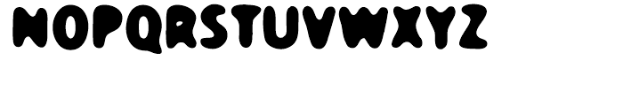 TPG Dont Blurry Regular Font UPPERCASE