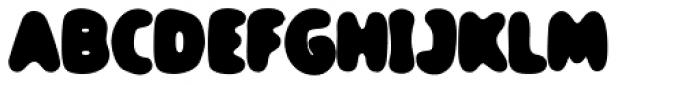 TPG DontBlurry Black Font UPPERCASE