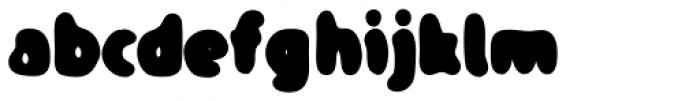 TPG DontBlurry Black Font LOWERCASE