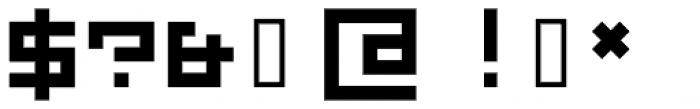 TPG SquareSpace Medium Font OTHER CHARS