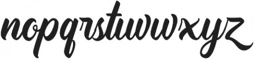 TradeMark ttf (400) Font LOWERCASE