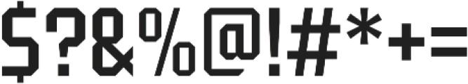 Tradesman Cond Regular otf (400) Font OTHER CHARS