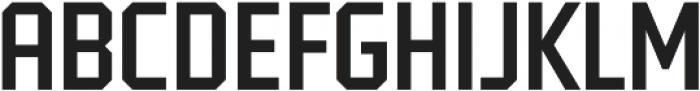 Tradesman Cond Regular otf (400) Font UPPERCASE