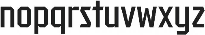 Tradesman Cond Regular otf (400) Font LOWERCASE