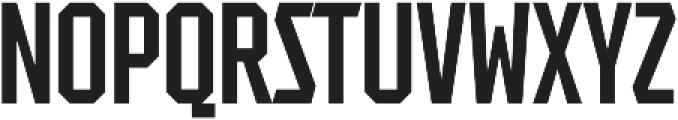 Tradesman ExCond Regular otf (400) Font UPPERCASE