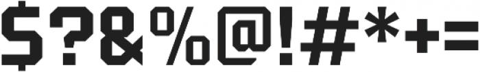 Tradesman SC Bold otf (700) Font OTHER CHARS