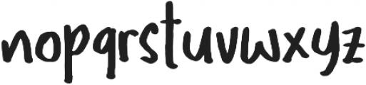 Traits ttf (400) Font LOWERCASE